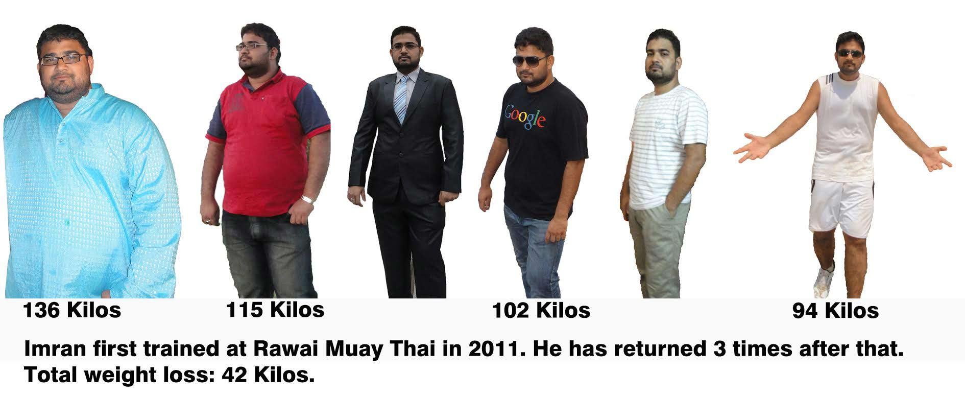muay thai training for weightloss