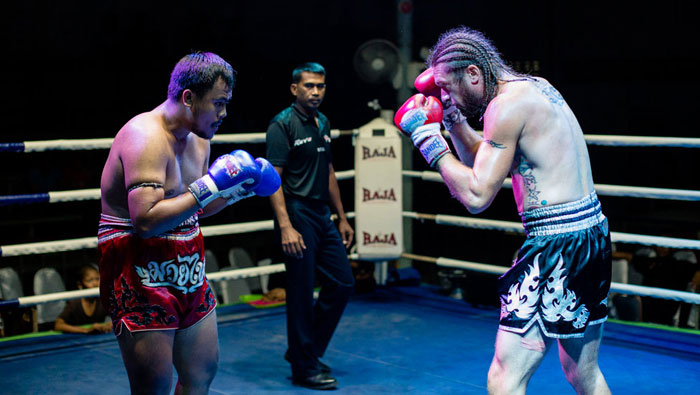muay thai fight