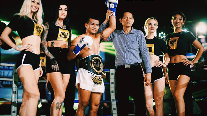 Madsing Wins Belt in Malaysia