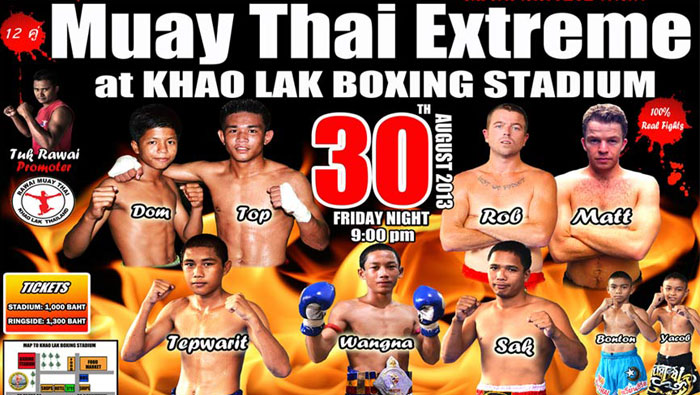 Muay Thai Fight Posters