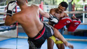 gimnasio de muay thai en tailandia