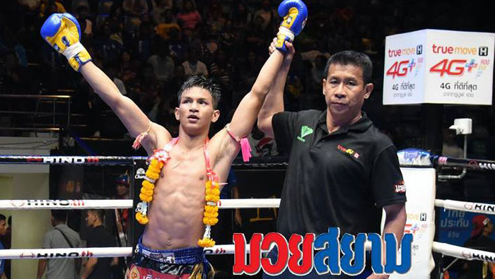 Rawai Muay Thai Boxers win in Lumpini Stadium