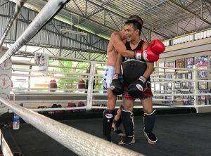 having fun while training